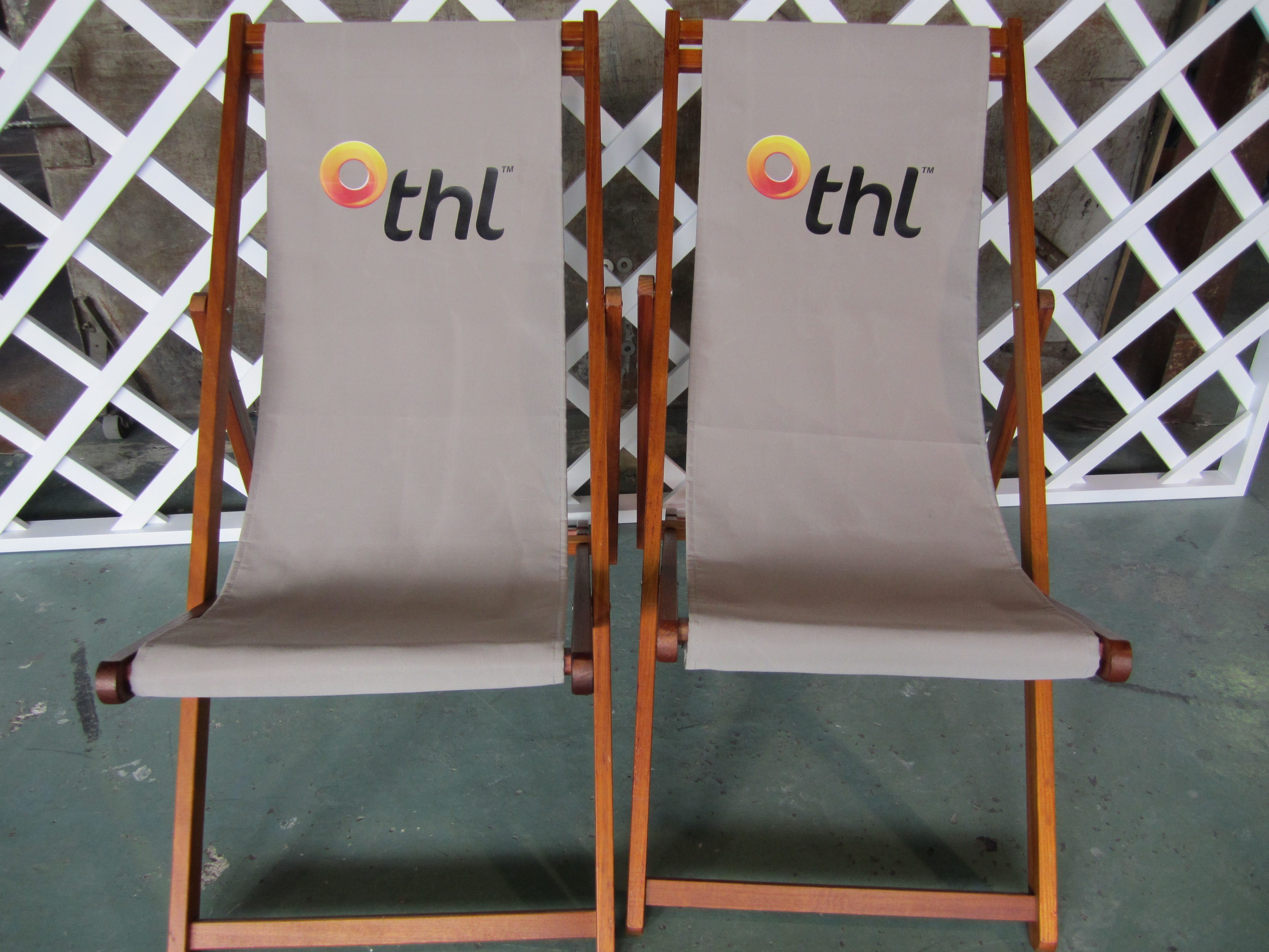 Deck Chairs Logo Personalised