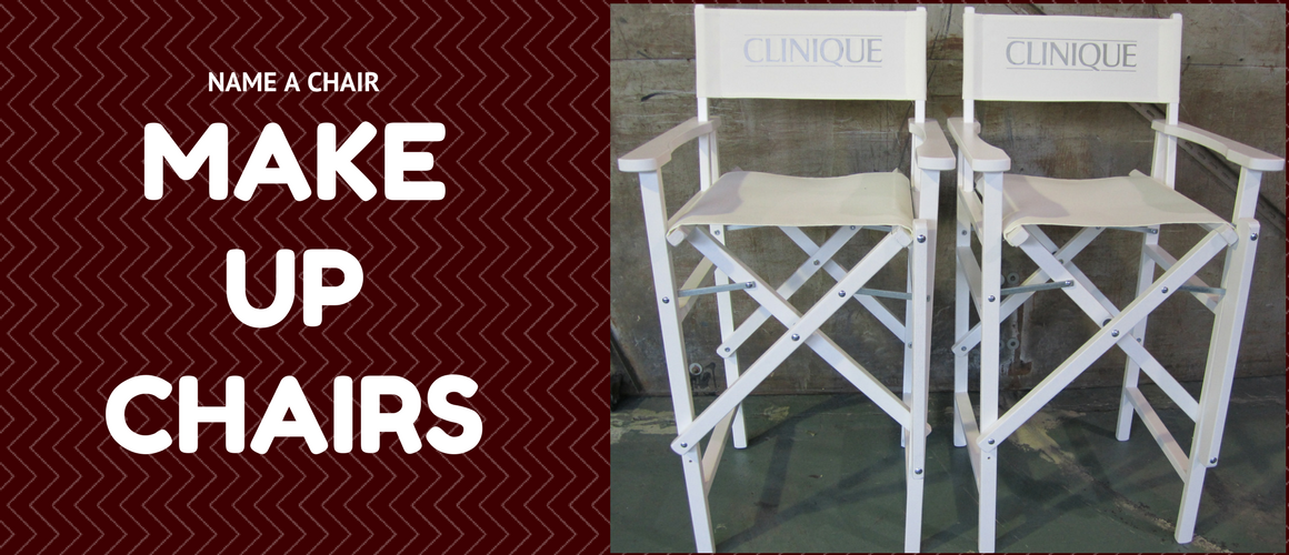 ... Personalised Directors Chairs ·    Professional Make Up Chair ·    Deck  Chairs · Contact Us